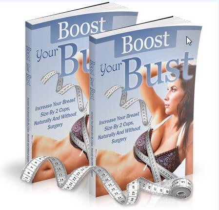 how to naturally increase breast size